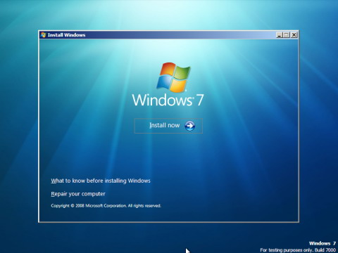 ������ ������� ����� Windows 7