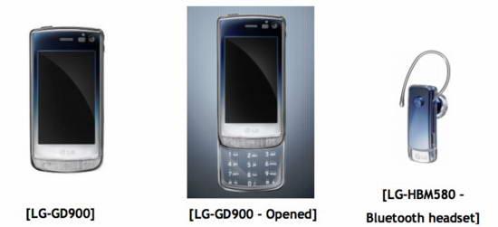 LG, GD900