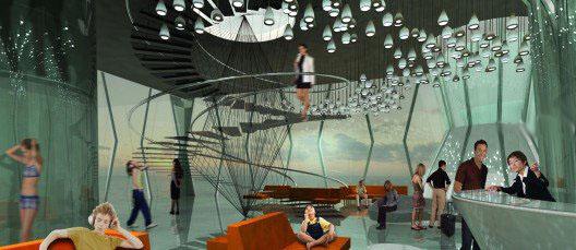 Morris Architects, Нефтяная вышка