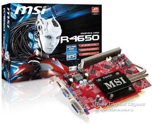 MSI, R4600 HDMI