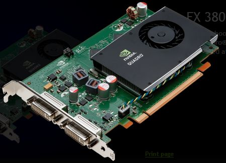 ����� ������� ���������������� NVIDIA GPU Quadro