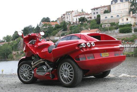 Гибрид автомобиля и мотоцикла Новости технологий.