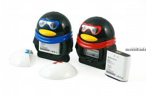 Мобильный, Телефон, Пингвин