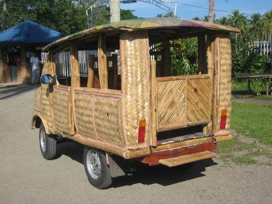 Автомобиль, Бамбук