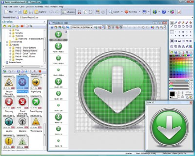Axialis IconWorkshop 6.50 Portable Rus  - создание иконок