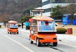 Корейрейские электромобили питаються от дороги