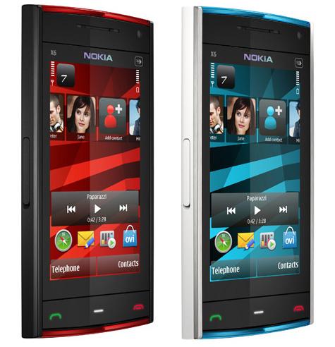 Недорогой Nokia X6 - в феврале 2010