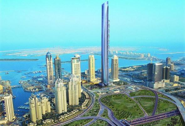 Самый высокий дом в Мире ~ 2 13 11 13 - EMIRATES - Dubai Burj