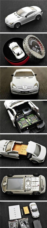 Мобильный телефон в виде автомобиля Mercedes