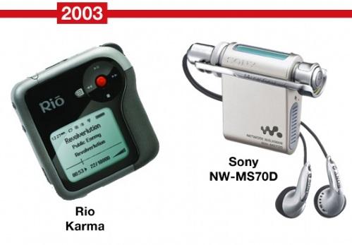 MP3-�����, Microsoft, Apple, Creative