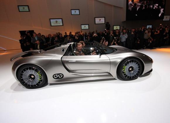Porsche, 918 Spyder