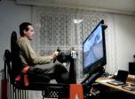 Впечатляющий самодельный симулятор Формулы 1