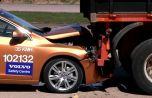 Незапланированный краш-тест Volvo S60