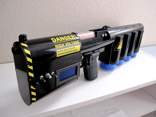 Гаус-пушка 1.25kJ Coilgun
