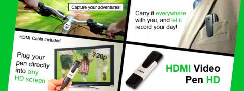 Thanko, HDMI Video Pen HD Camcorder