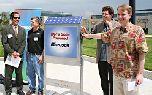 Microsoft установила солнечные батареи