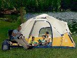 Палатка на солнечных батареях