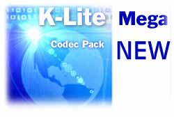 K-Lite ������: Codec Pack 2.75 � Mega Codec Pack 1.57