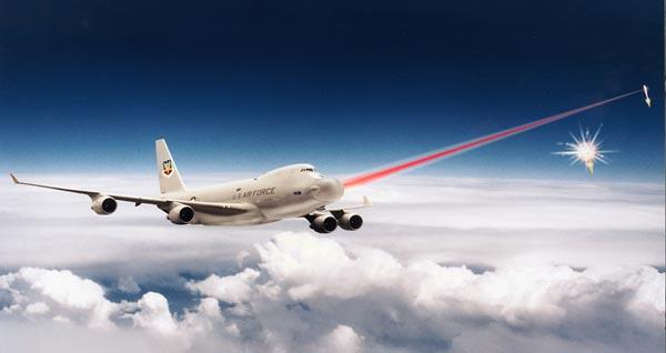 Газодинамический лазер воздушного базирования, получивший название Airborn laser