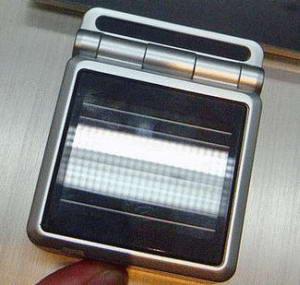 DoCoMo - мобильный телефон на солнечной батарее