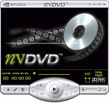 Nvidia® Nvdvd - Nvidia® Dvd Player 2.55
