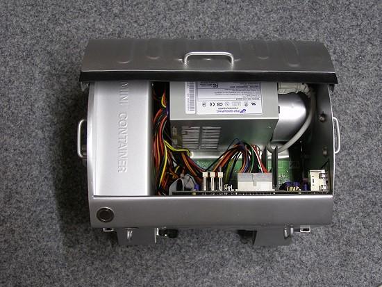 Компьютор в мусорном контейнере