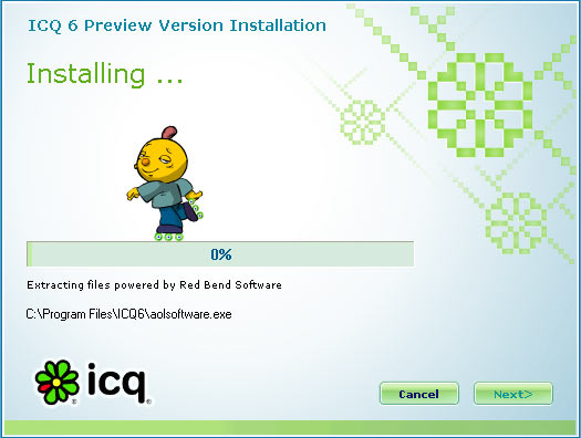 ICQ 6.0 Preview: �������� ������