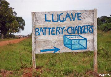 Как заряжать мобильный телефон в Африке