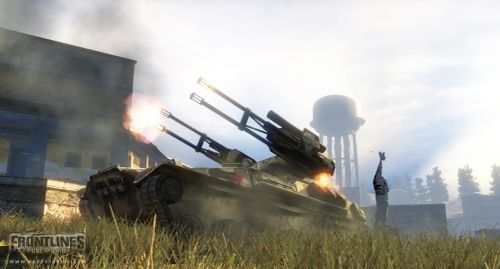 Frontlines: Fuel of War �� ���� Crysis