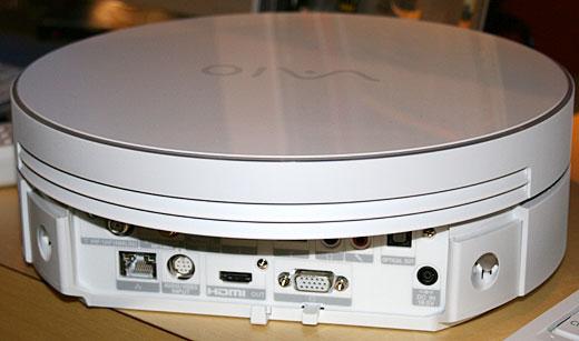 Sony Vaio VGX-TP1 – необычной формы компьютер