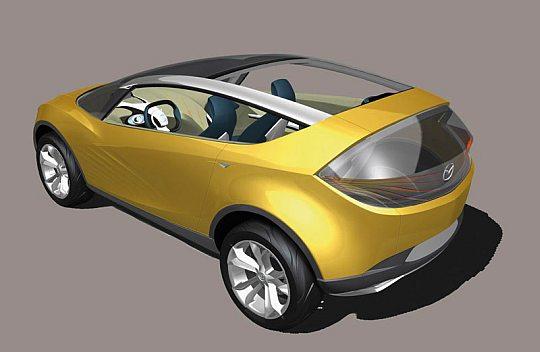 Концепткар Mazda Hakaze
