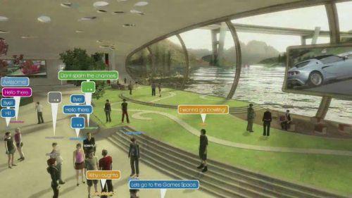 PlayStation Home - бесплатный виртуальный мир от Sony