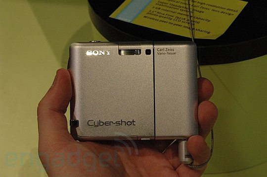 Sony G1 Cybershot - фотоаппарат с Wi-Fi и 2 Гб памяти