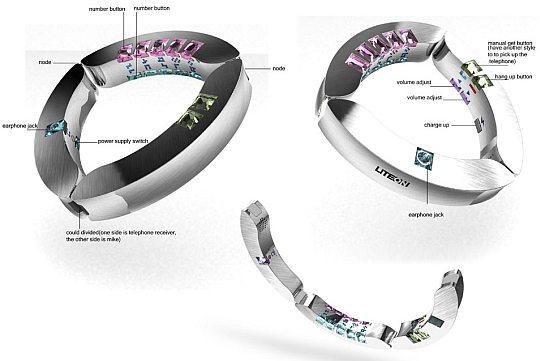 LiteOn – еще один концептуальный телефон-браслет