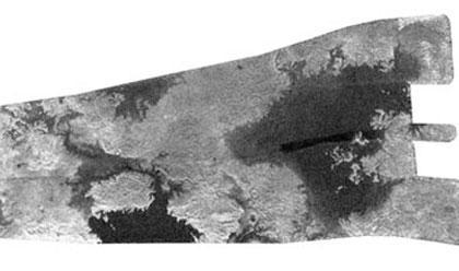 моря на Титане