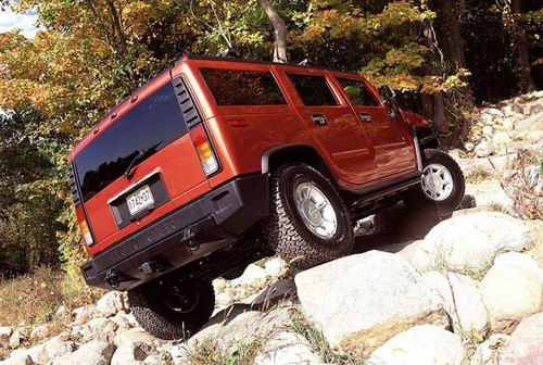 Hummer H2 - тестдрайв