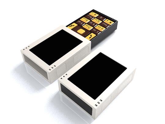 Телефон а-ля спичечный коробок