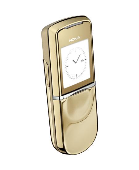 Nokia 8800 Sirocco Gold: престиж из 18-каратного золота