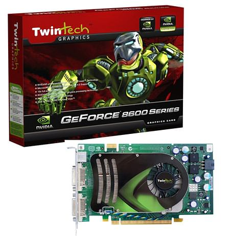 Twintech GeForce 8600GTS