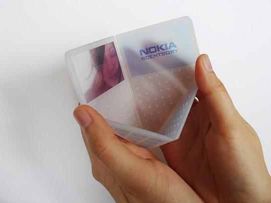 Scentsory – удивительный концептфон от Nokia