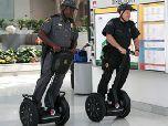 Полиция переходит на скутеры
