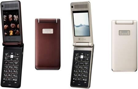 Титановый телефон Toshiba 814T