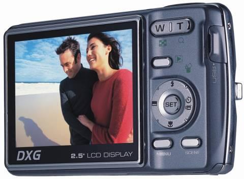 DXG-711 – недорогой 7-мегапиксельный цифровик