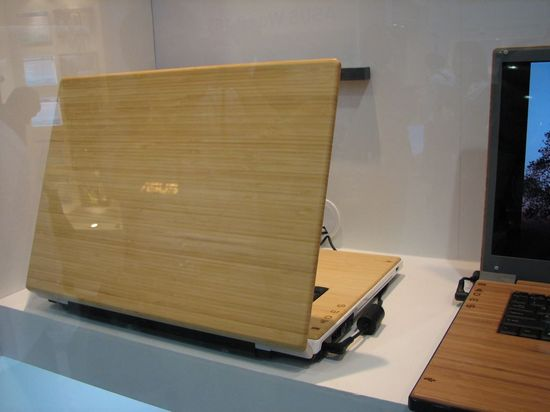 Computex 2007: бамбуковые ноутбуки от ASUS