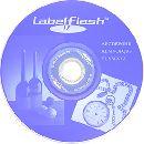 LabelFlash - печать на CD