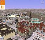 В Google Earth появилась 3D-модель Дрездена