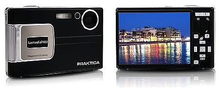 Praktica: анонс фотокамер DPix 740Z и luxmedia 7403