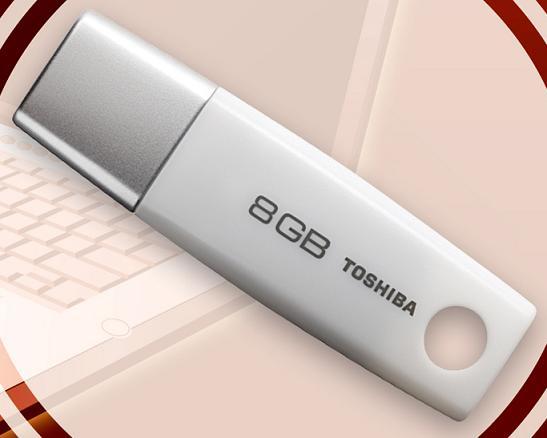 Toshiba: анонс 32-Гб USB - «флэшки» массой 12 грамм