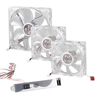 ����� ������ LED On/Off Fan � ���������� �� Cooler Master