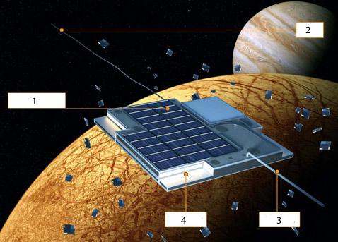 Межпланетный корабль размером с копейку